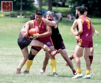 Scott helps Gargoyles overpower Toronto Dingos