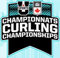 U Sports Curling logo